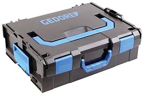 GEDORE L-BOXX 136 - 58 teilig / Großes Hand- bzw. Heimwerker Werkzeugset mit Check-Tool-Einlage / VDE Werkzeugset / Profi Werkzeuge für jede Gelegenheit - 2