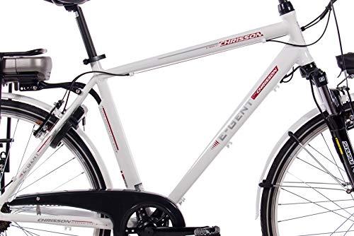 CHRISSON 28 Zoll E-Bike Trekking und City Bike für Herren Bild 3*