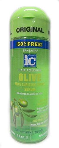 IC Fantasia Hair Polisher Olive Moisturizing Shine Serum 178ml - Fantasia Ic Hair Polisher Olive
