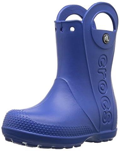 Crocs Handle It, Bottes de pluie - Mixte enfant - Bleu (Sea Blue), EU 28-29 (C11)