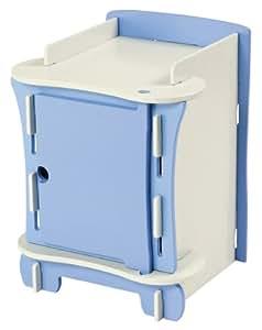 kidsaw kinder nachttisch blau. Black Bedroom Furniture Sets. Home Design Ideas