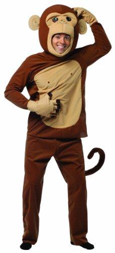 Zeitungspapier Kostüm Aus - Affe Monkey - Kostüm für Erwachsene