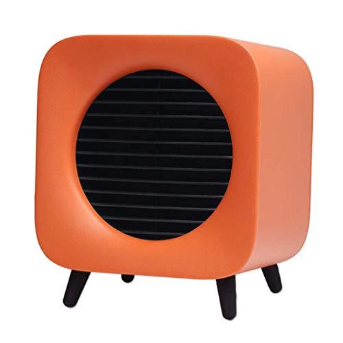 XY@ calefactores cerámicos Ventilador del Calentador Pequeño Eléctrico Rápido Aire Caliente 2 Modos...