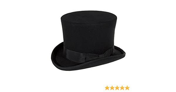 Major Wear Cappello Cilindro Alto (Nero) - Large  Amazon.it  Abbigliamento a1059f4fd01f