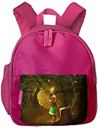 The Little Girl In The Forest Students Book Bag Children Schoolbags Backpacks For Teens Boys Girls
