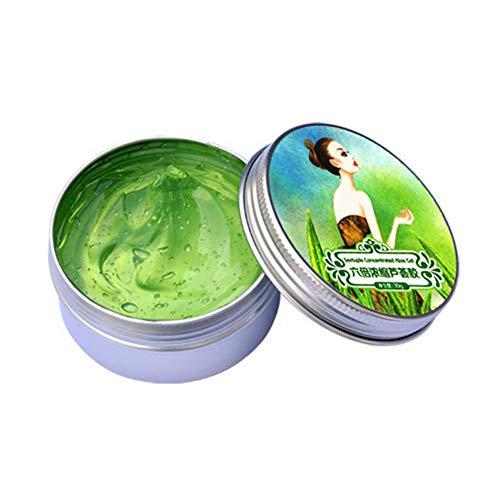 Aloe Vera Gel-paket (Hilai 1 STÜCK Naturals Aloe Vera Gel Reiner Aloe Extrakt Tägliche Feuchtigkeitscreme Ultra Hydrating Skin Cooling Gel Nicht klebrige Haarspülung für Haut, Gesicht und Haar (30g))