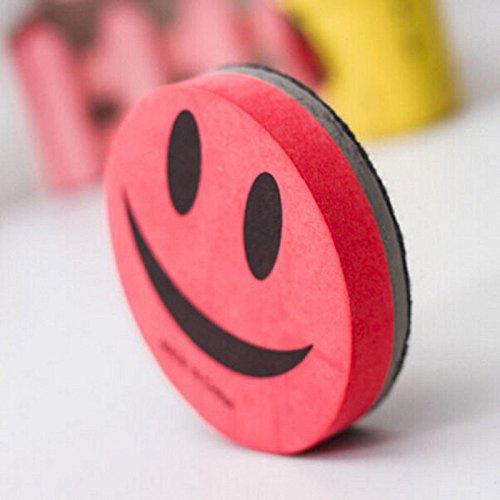 boho-magnetic-dry-wipe-eraser-smiley-face-circular-whiteboard-erasernovelty-eraser-smily-face-red