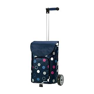 Andersen Shopper Unus und 41 Liter Tasche Kira blau mit Kühlfach