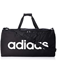 adidas Linear Core Duffel, Bags Uomo, Black/Black/White, Taglia Unica
