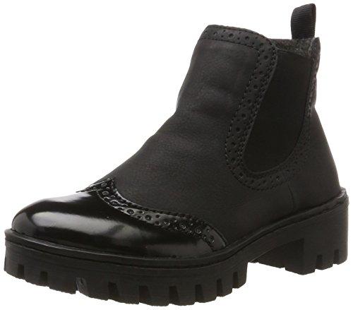 Rieker Damen 75752 Chelsea Boots Nero/schwarz, 41 EU
