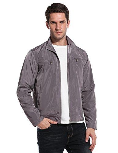 ZEARO Bomberjacke herren übergangsjacke slim fit premium kurz jacke jackett cool fashion bikerjacke