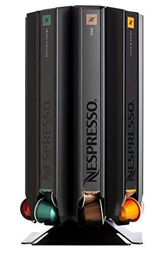 Distributore di capsule, Porta scatole per capsule Nespresso Döring CoffeeTower Box N80 nero (opaco)