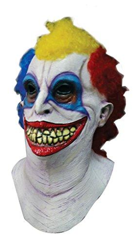 Scary Halloween Latex Kopf-, Hals- und Gesichtsschutz Clown Booba gruselige Party Kostüm