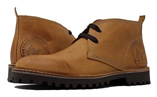 PORTMANN ,  Herren Desert Boots, Nubuck Wheat - Größe: 41 -