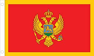 Allied Flagge Outdoor Nylon Montenegro United Nation Flagge, 4 by 6-'