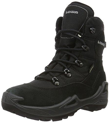 Lowa Unisex-Kinder Rufus III GTX HI Trekking-& Wanderstiefel, (schwarz/grau), 35 EU