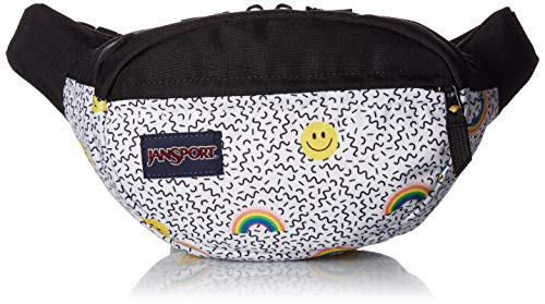 JANSPORT Fifth Avenue Fanny Pack Smiles and Rainbows