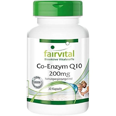 Fairvital - Coenzima Q10 200mg - 30 capsule