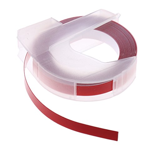 Baoblaze Markierungsband Bodenmarkierungsband Warnband Klebeband 300mmx 6mm - Rot