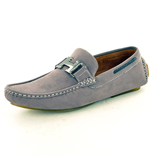 mens-grey-slip-on-faux-suede-casual-loafers-moccasins-shoes-uk-10-eu-44-grey