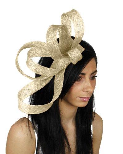 KATE Ascot Bibi Chapeau–Bandeau avec peigne ou crème