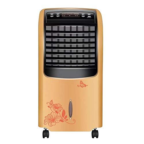 QFLY Enfriador De Aire Vertikale Heizung Und Kühlung Dual-Use-Klimaanlage Heizlüfter Heizung Haushaltslüfter Maschine Mobile Kleine Klimaanlage Stumm Fernbedienung