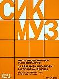 Produkt-Bild: 24 Praeludien + Fugen Op 87/13-24 Bd 2. Klavier