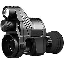 YTBLF Dispositivo de visión Nocturna monocular Digital 4 × -14 visión Nocturna visión Nocturna telescopio monocular infrarrojo Video visión Nocturna Gafas desmontaje rápido