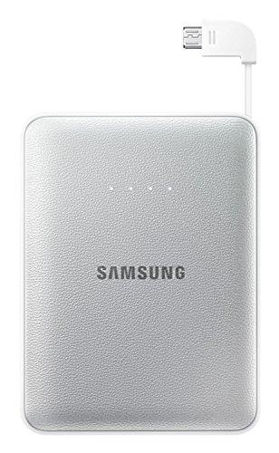 Samsung EB-PG850B - Batería externa para dispositivos móviles (Li-Ion, 8400 mAh, Micro USB), plateado