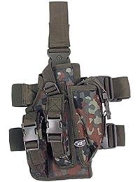 Pistolenbeinholster Bein- und Gürtelbefestigung rechts