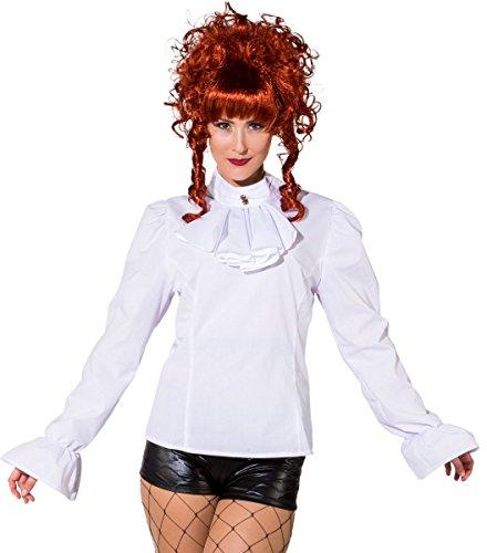 Orlob Damen Kostüm Biedermeier Bluse Steampunk Karneval Fasching Gr.36