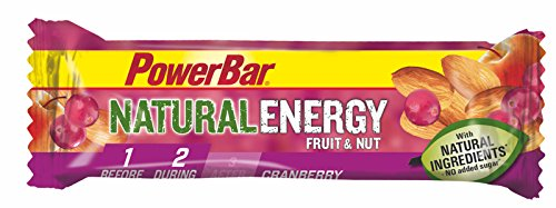 Barrita Energética Natural Energy Frutas PowerBar 12 x 40g Frutos Sil