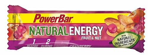 Barrita Energética Natural Energy Frutas PowerBar 12 x 40g Frutos Silvestres y Nueces
