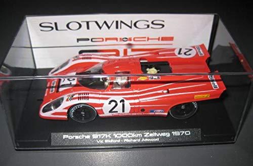 Fly SCALEXTRIC Porsche 917 K Rojo Nº21 DE SLOTWINGS
