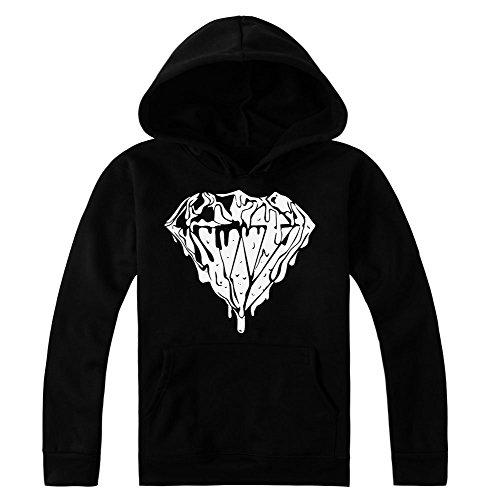 Liquid Diamond Design Women's Hoodie Pullover