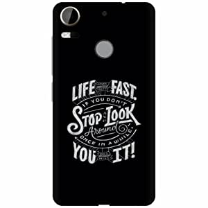 Printland Designer Back Cover For HTC Desire 10 Pro - Stop Took Designer Cases