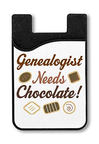Genealogist Needs Chocolate ! Kreditkarteninhaber für Smartphone (Herr Luke Valentine)