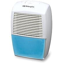 Orbegozo DH 1036 - Deshumidificador Dh1036, 10L, R134A, 180 W, color blanco y azul