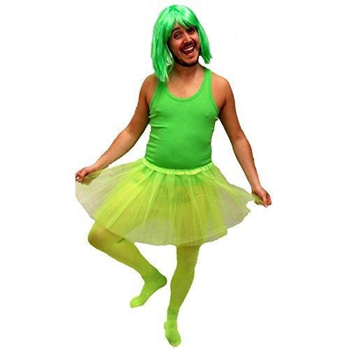 Imagen de disfraz despedida de soltero de bailarina para hombre verde