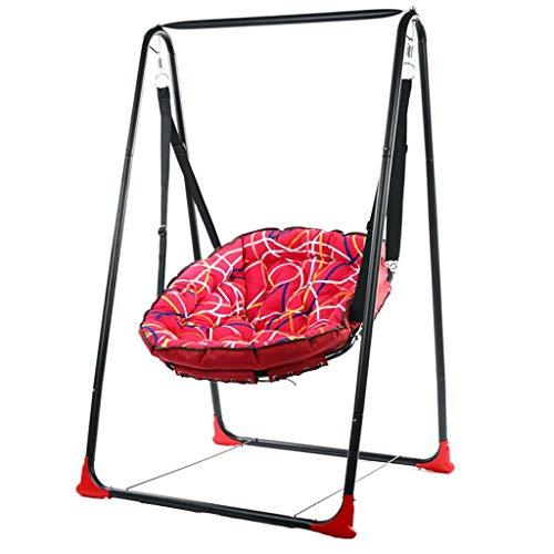 Hildrens Schaukeln Stuhl Indoor Baby Erwachsene Balkon Hängematte Schaukel  Schaukeln Outdoor Wiege Hängen Garten Patio Hof Sitz Schaukeln Stand (Color  ...