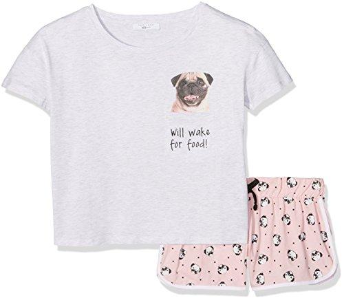 New-Look-Girls-Pug-Pyjama-Sets