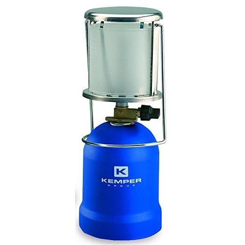 Lampe A GAS Tragbare Piezo ke2013kemper- Lampe Camping Schutzhülle ABS–Camping Lampe für Kartusche Gas 190g