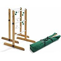 Ladder Golf doppio Torneo gioco, 2set di bolas (Verde,