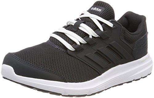 Adidas Galaxy 4, Zapatillas de Running para Mujer, Gris (Carbon/Carbon / White 0), 37 1/3 EU
