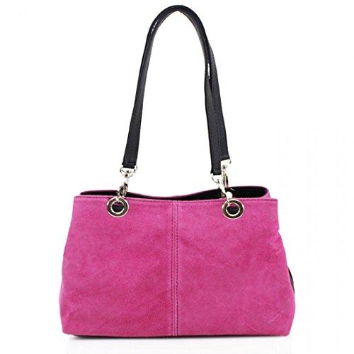 Elegant Fashions, Borsa a spalla donna Pink