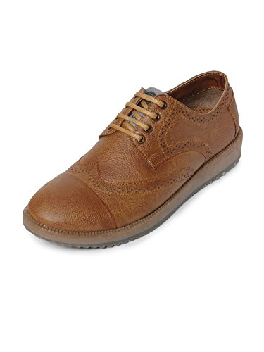 Bacca Bucci Men Tan Synthetic Leather Casual Shoes 7 Uk