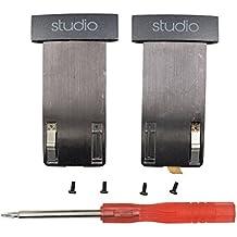 De repuesto almohadillas de recambio Cojines para Beats by Dr. dre Studio 2.0con cable, inalámbrico Studio 2.0Over-Ear Headphones (no para Solo o estudio 1st Gen Auriculares)