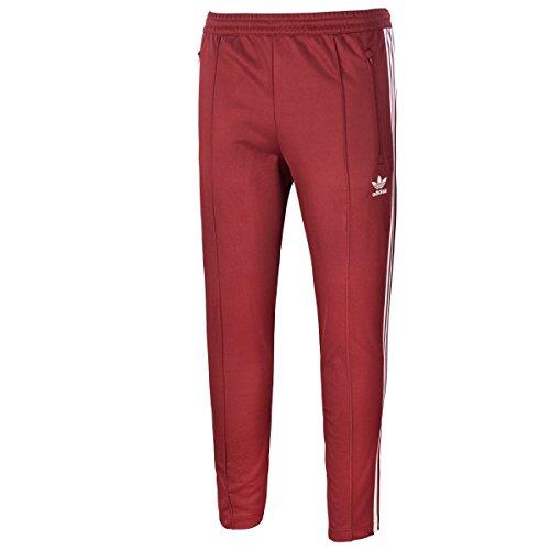Adidas Originals Herren Jogginghose BECKENBAUER TP CW1270 Dunkelrot, Größe:XXL