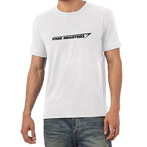 Texlab Stark Industries Logo - Herren T-Shirt, Größe M, - Shirt Spiderman Vintage