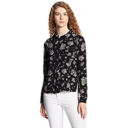 Vero Moda Women's Body Blouse Shirt (10175989_Black_XS)